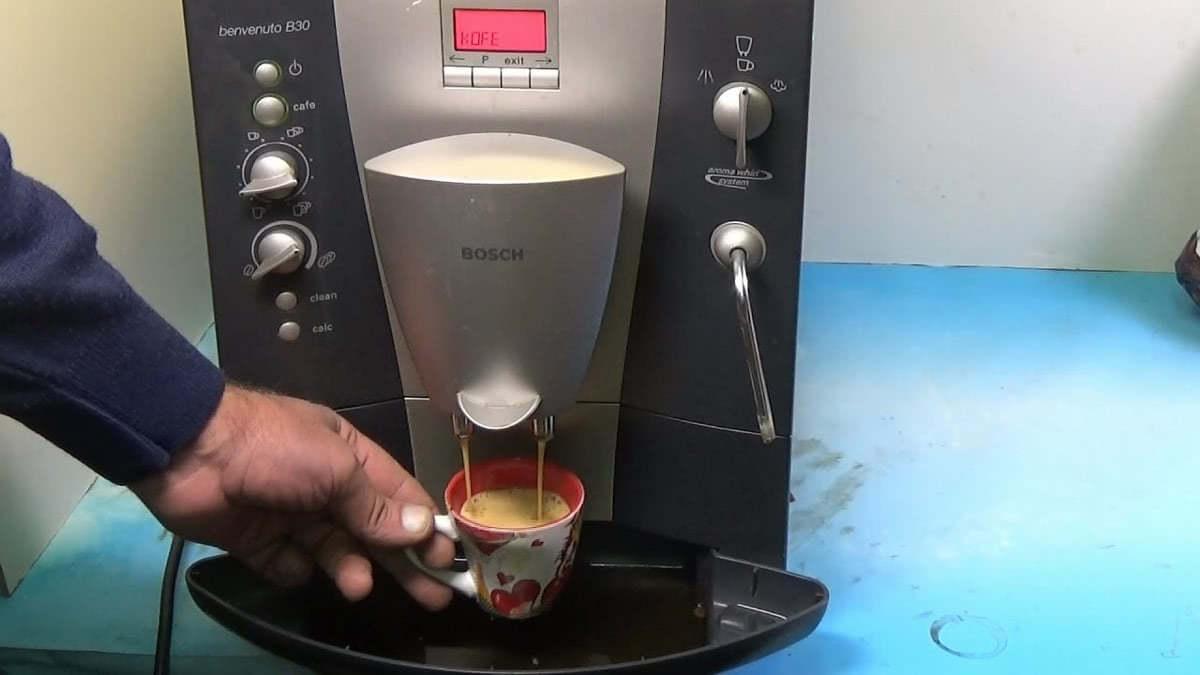 Ремонт кофемашин Bosch в Москве